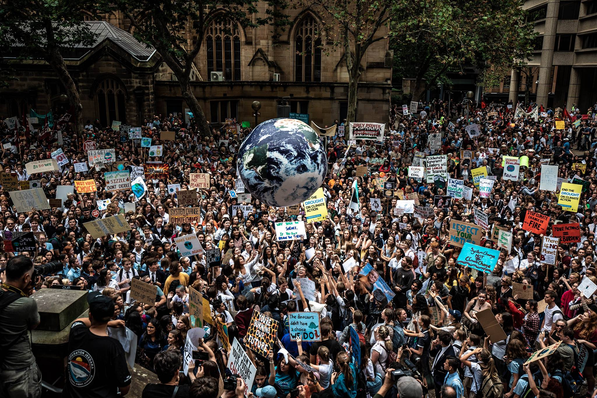 Majority of Australians Support School Strikers and Real Climate Action, Poll Finds