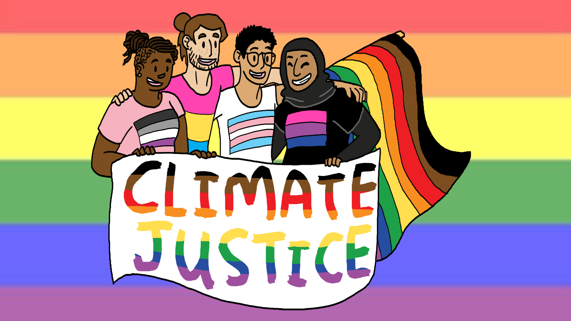 Celebrating Queer Legends in the Youth Climate Movement