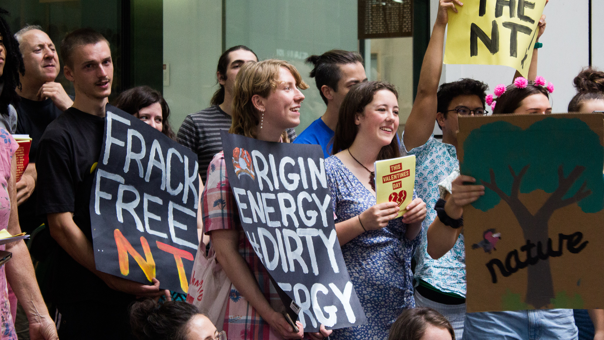 We are fighting for climate justice | Support AYCC