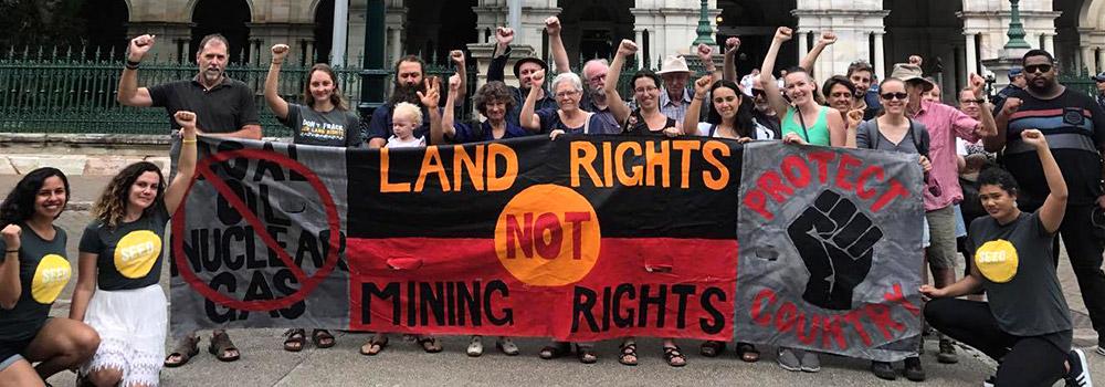 Don't let George Brandis trash land rights forever