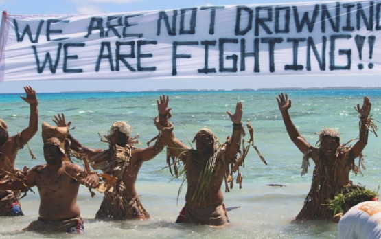 we are not drowning, we are fighting