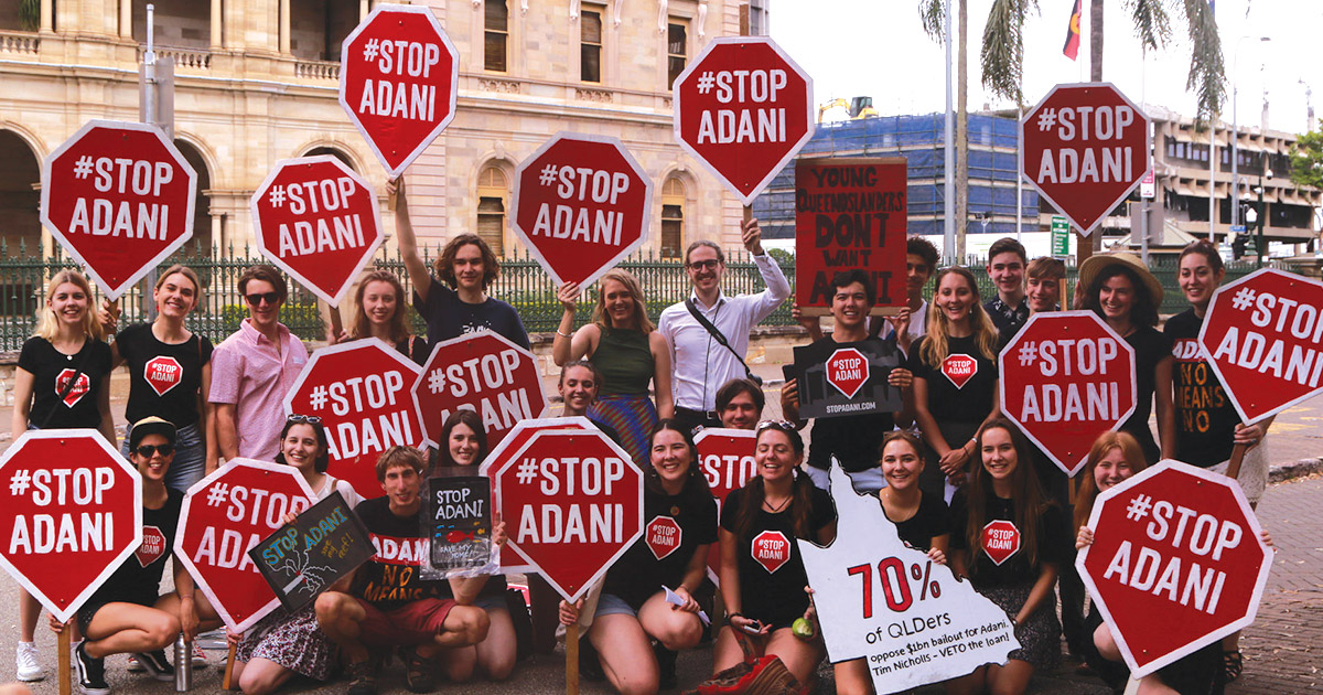 Queensland Election Result = Stop Adani