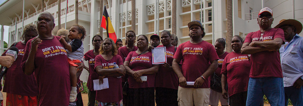 Update from the NT Aboriginal Fracking Forum