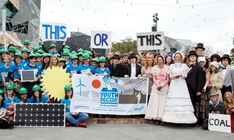 Giving young people a chance to have their say on climate policy