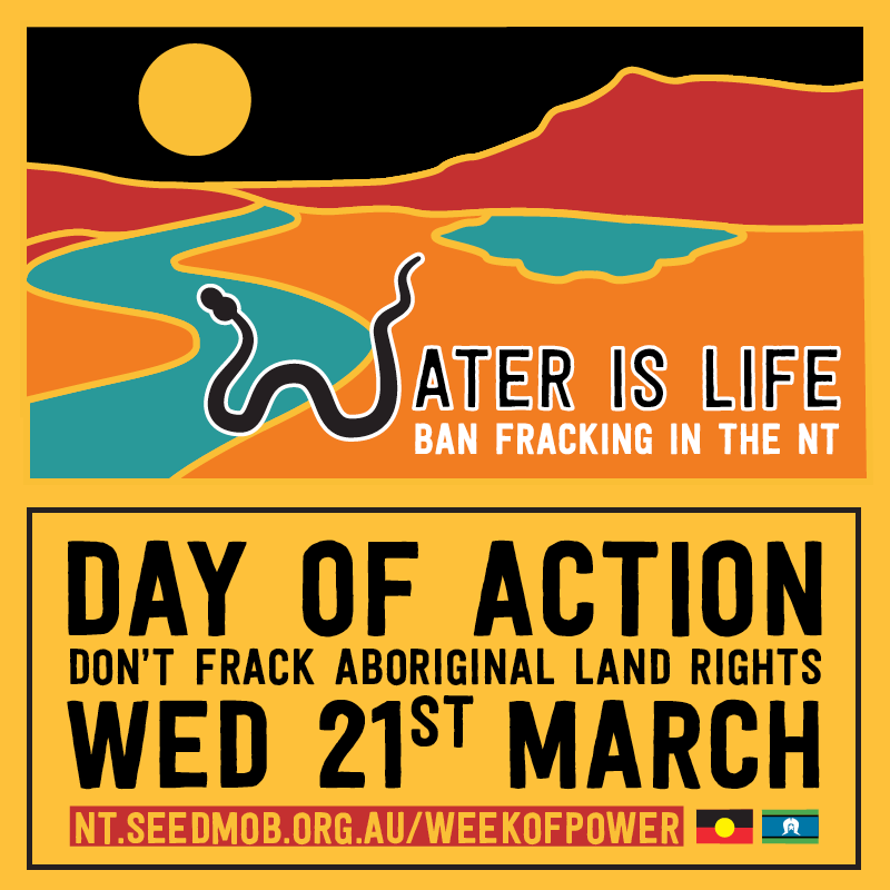 Don't frack Aboriginal land rights: Adelaide Day of Action