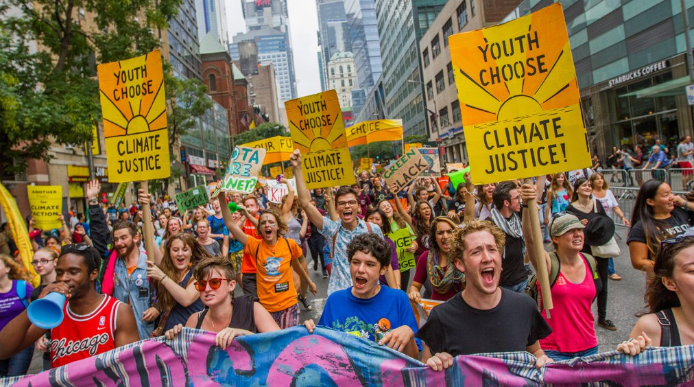Are you in for the People's Climate March?