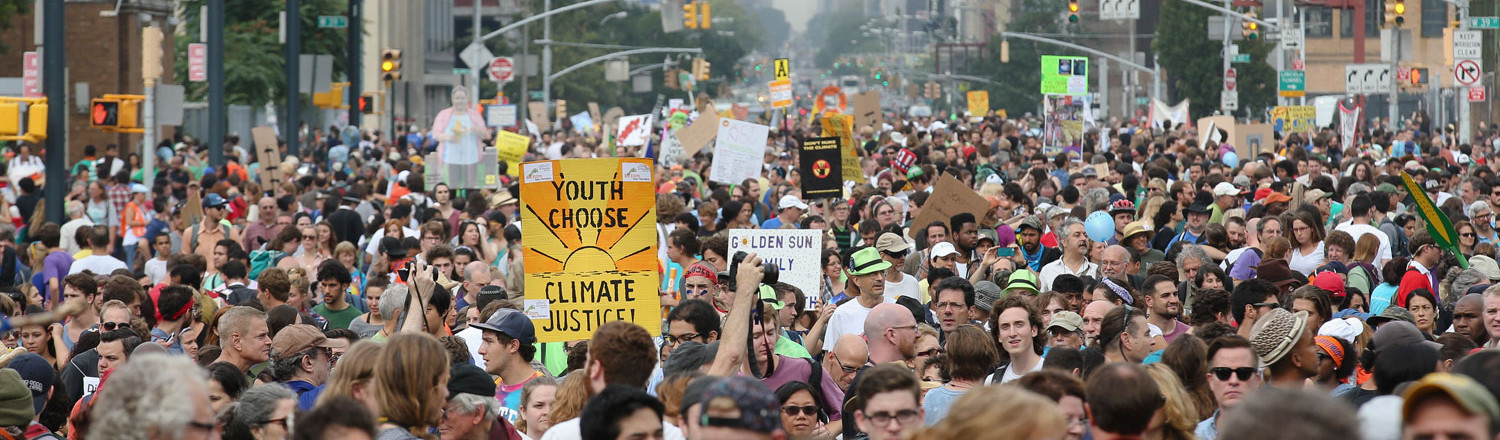 Help us recruit for the People's Climate March!