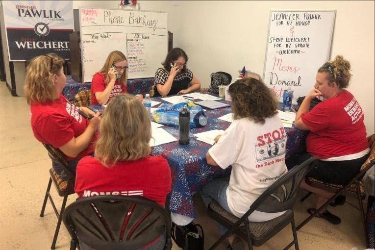 Moms Demand Action Phone Bankers