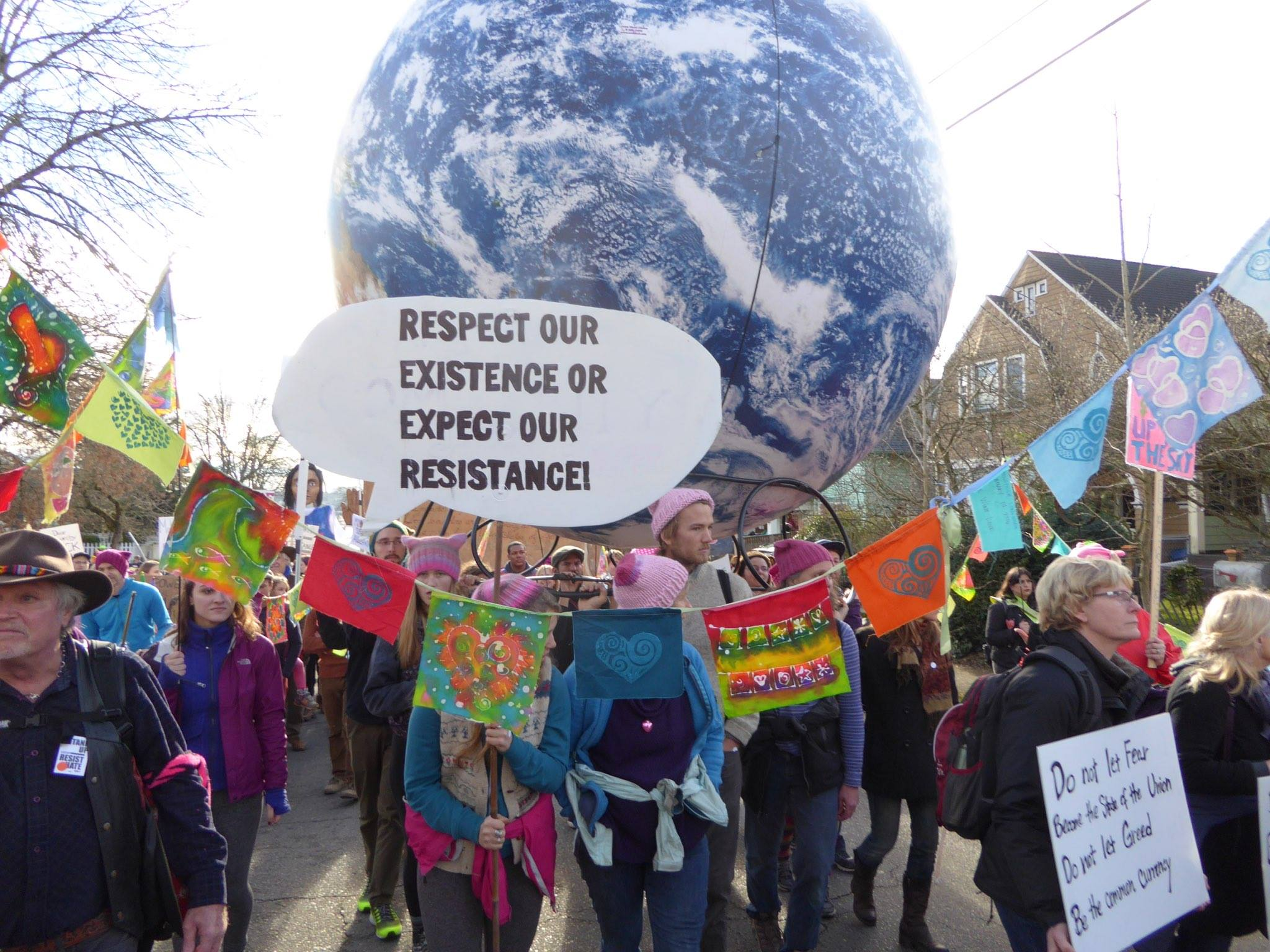 Respect_our_existence_speech_bubble_sign_earth_globe_womens_march_by_les_berenson_16179590_10154360327377921_2389735553953337670_o.jpg
