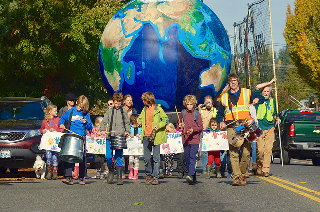Youth Tell Chase to Stop Funding Climate Disaster