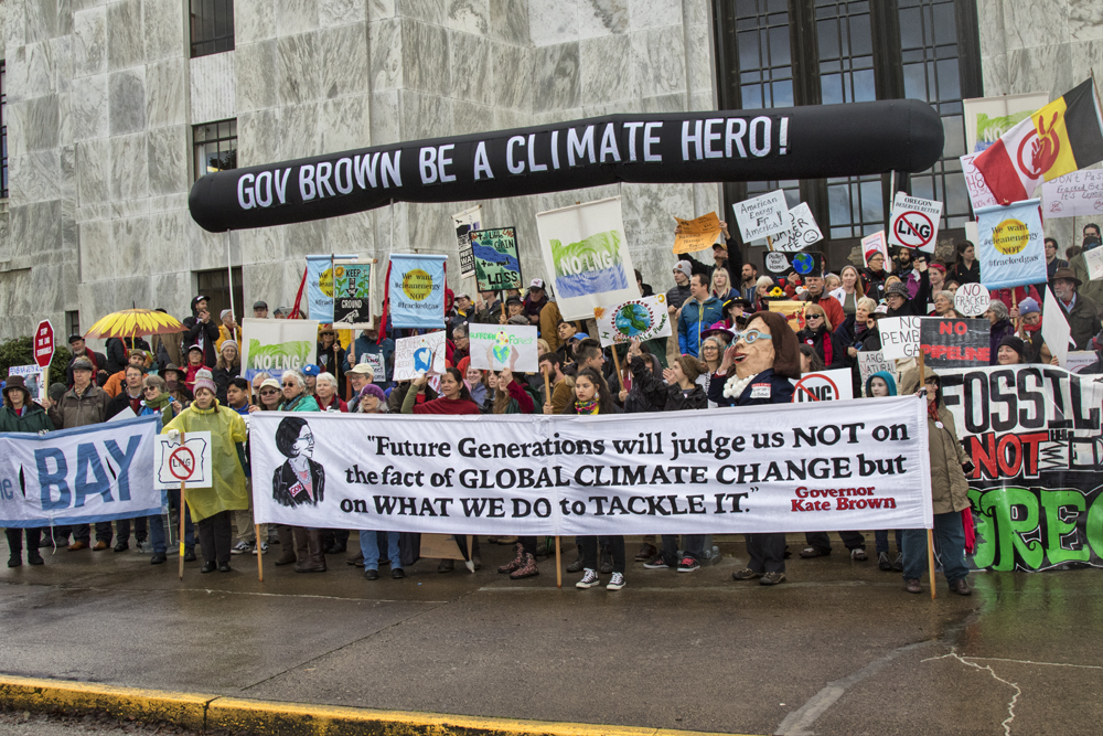 Gov Brown Be A Climate Hero!