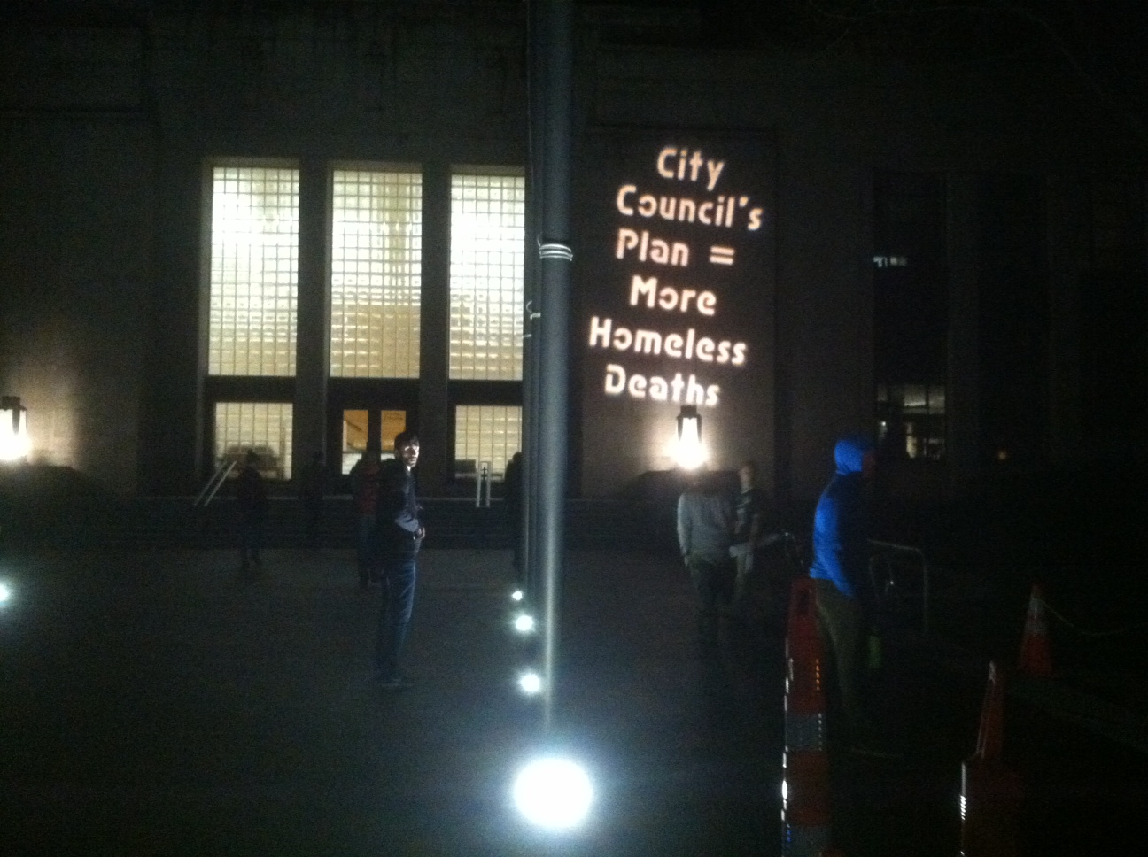 Homes Now Projection on Bellingham City Council