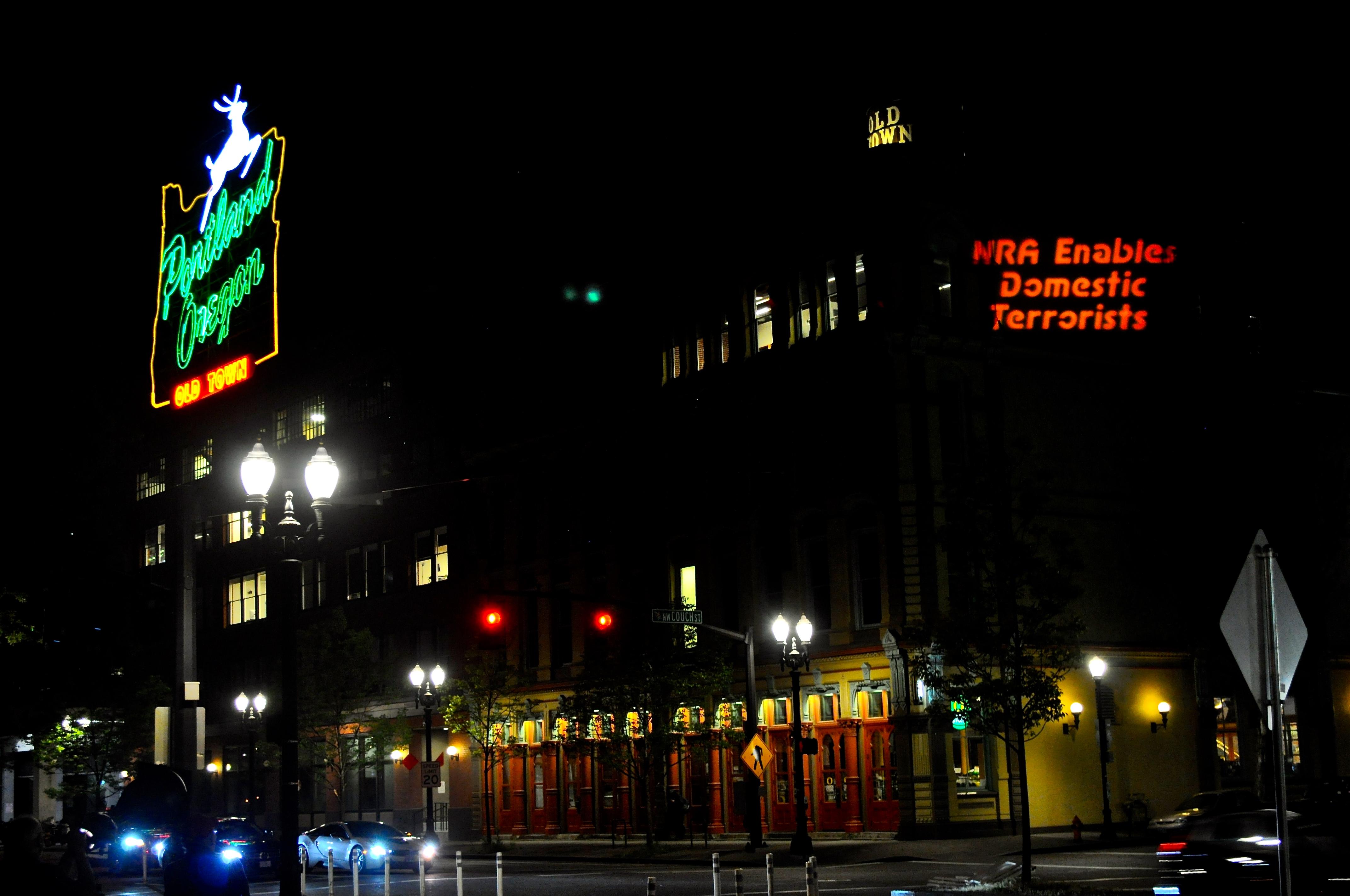 PortlandNeon-NRAEnablesTerrorists.JPG