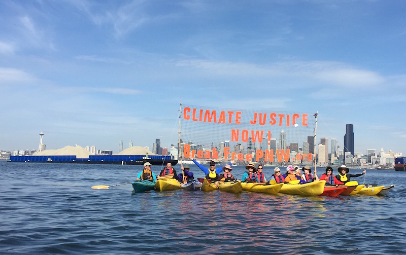 For Climate Justice, Skill-up to #BreakFree