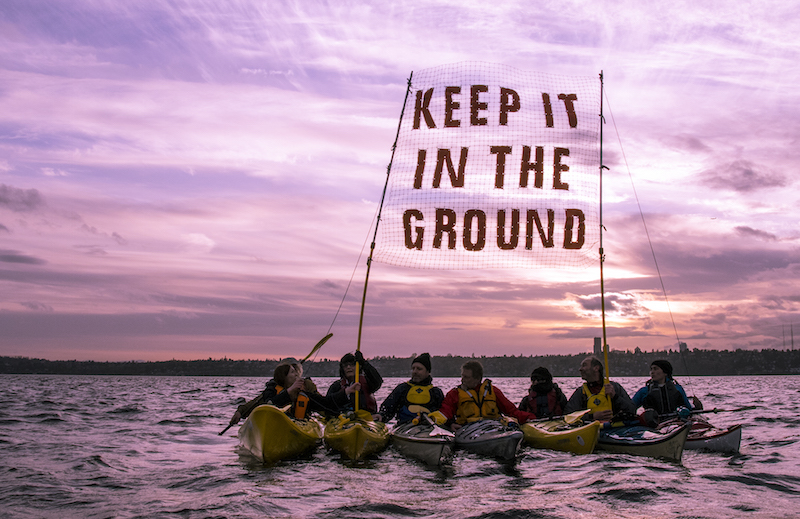 Keep it in the Ground, Train up to #BreakFree from fossil fuels