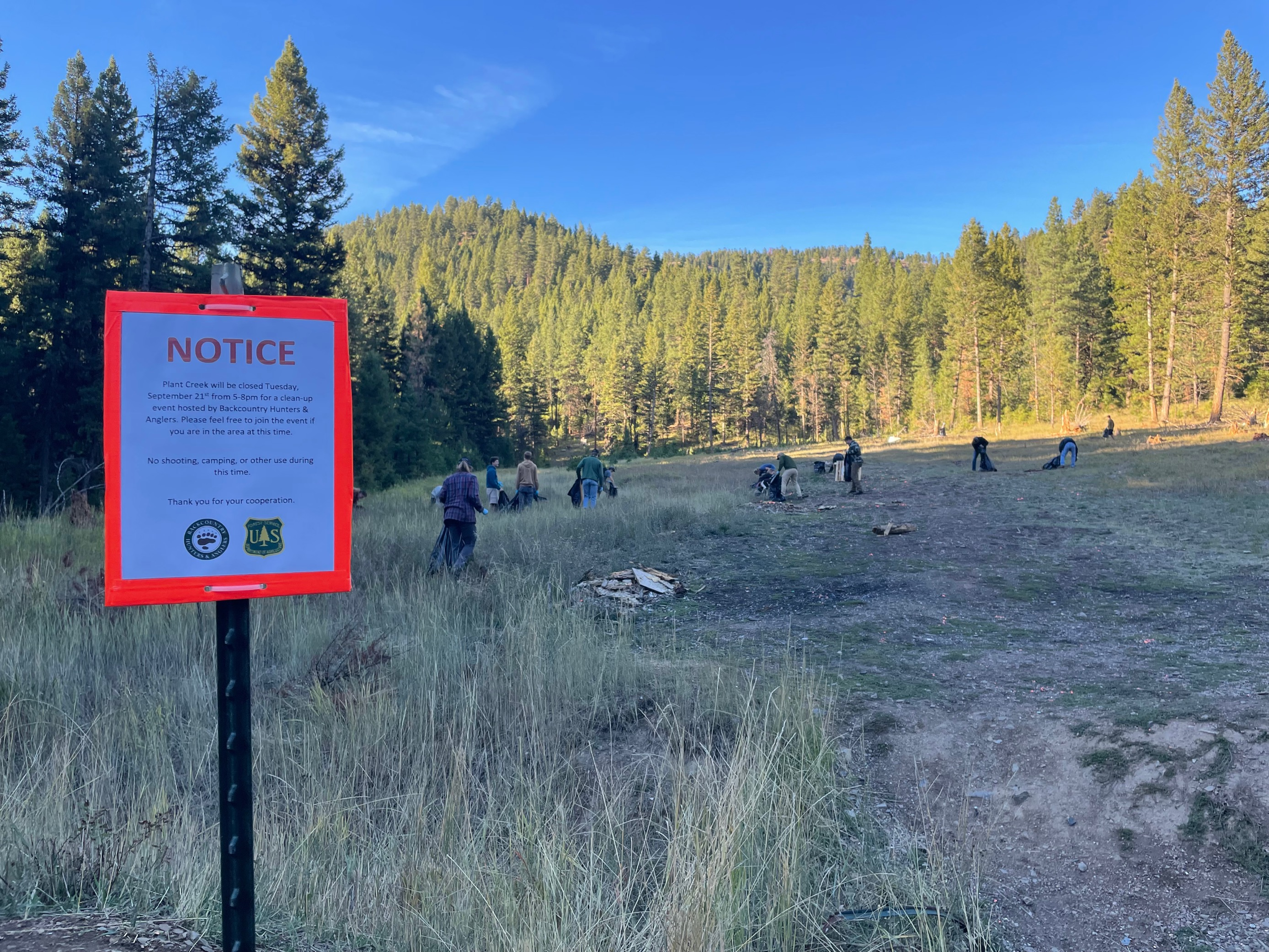 EVENT RECAP: Public Land Pack-Out with University of Montana BHA