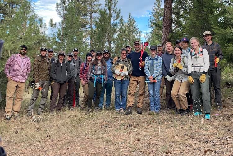 EVENT RECAP: Mount Jumbo Public Lands Day Clean Up, September 25