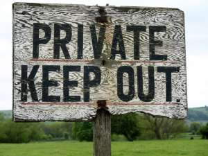private-keep-out