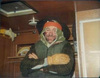 Randy Byers turkey hunt 1984 copy 2
