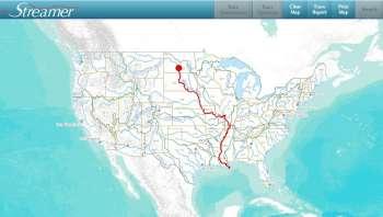 streamer map