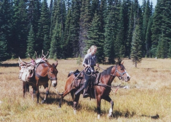 Holly backcountry horseback