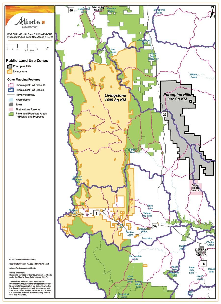 Public Land Map Alberta Alberta BHA: Livingstone – Porcupine Hills   Backcountry Hunters