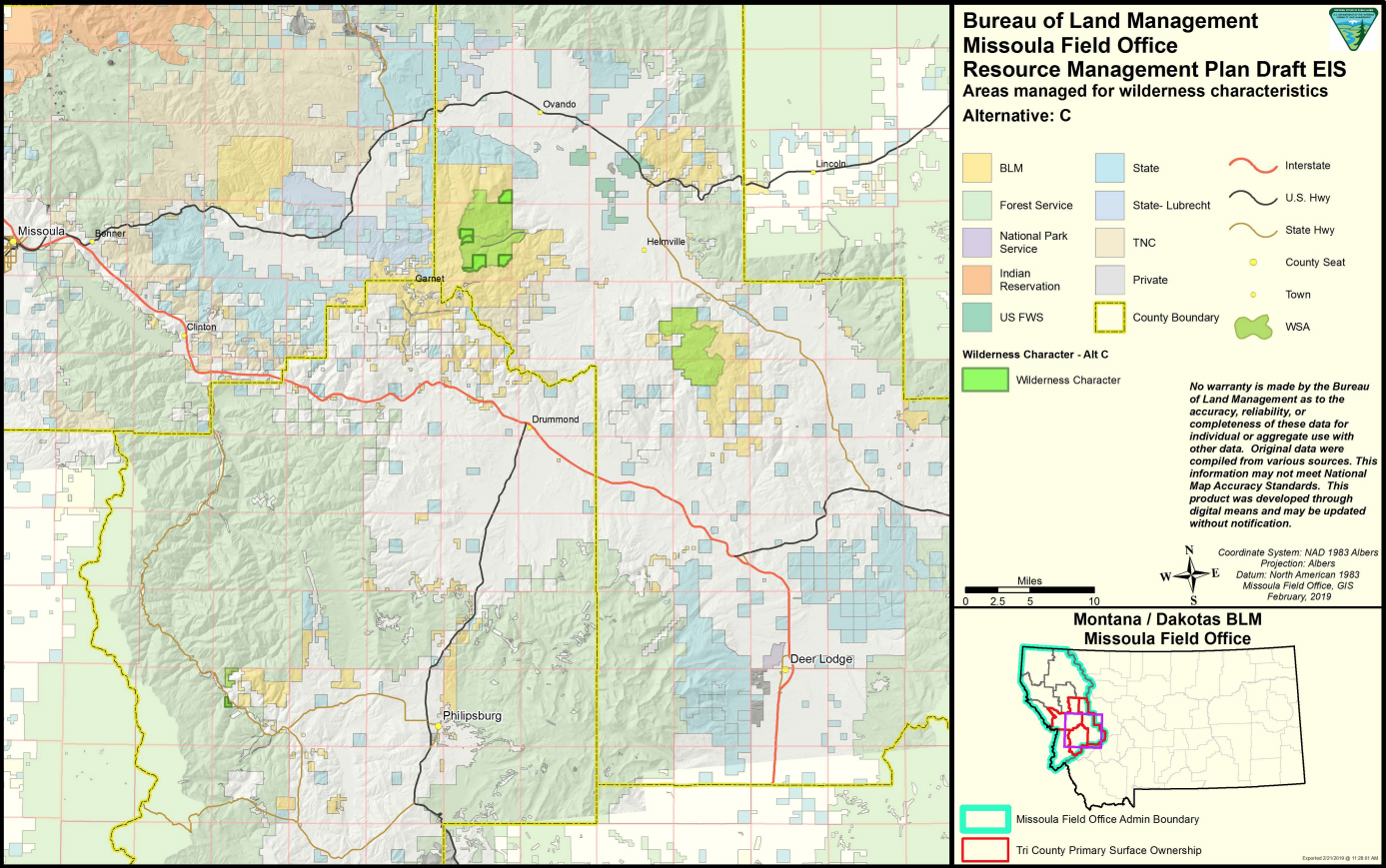 Speak Up For Blm Public Lands Near Missoula Backcountry Hunters And Anglers