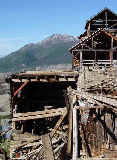An abandoned Alaska Mine