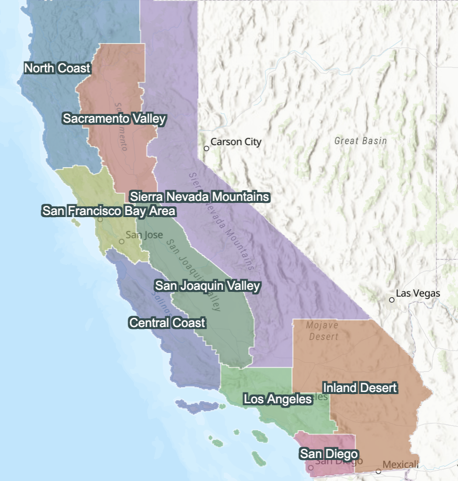CA Leadership Regions