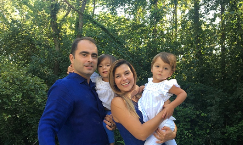 Adil Baguirov with family