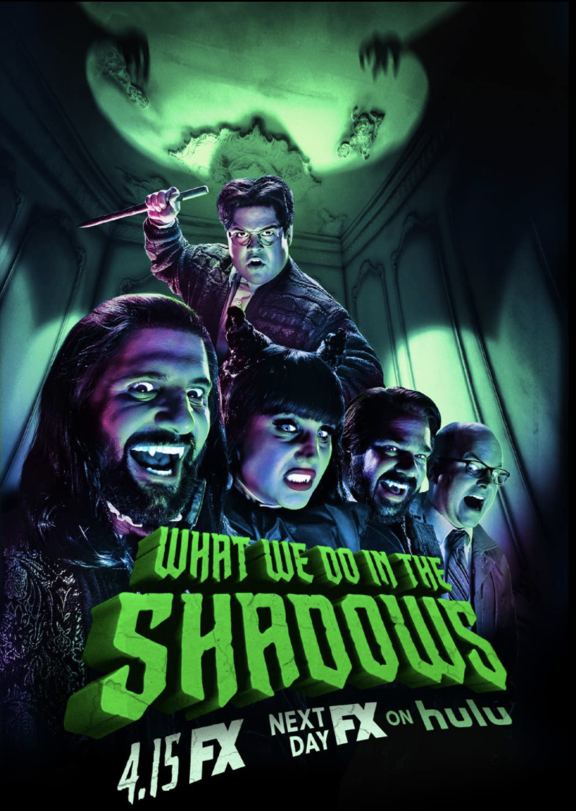 What We Do in The Shadows official movie poster