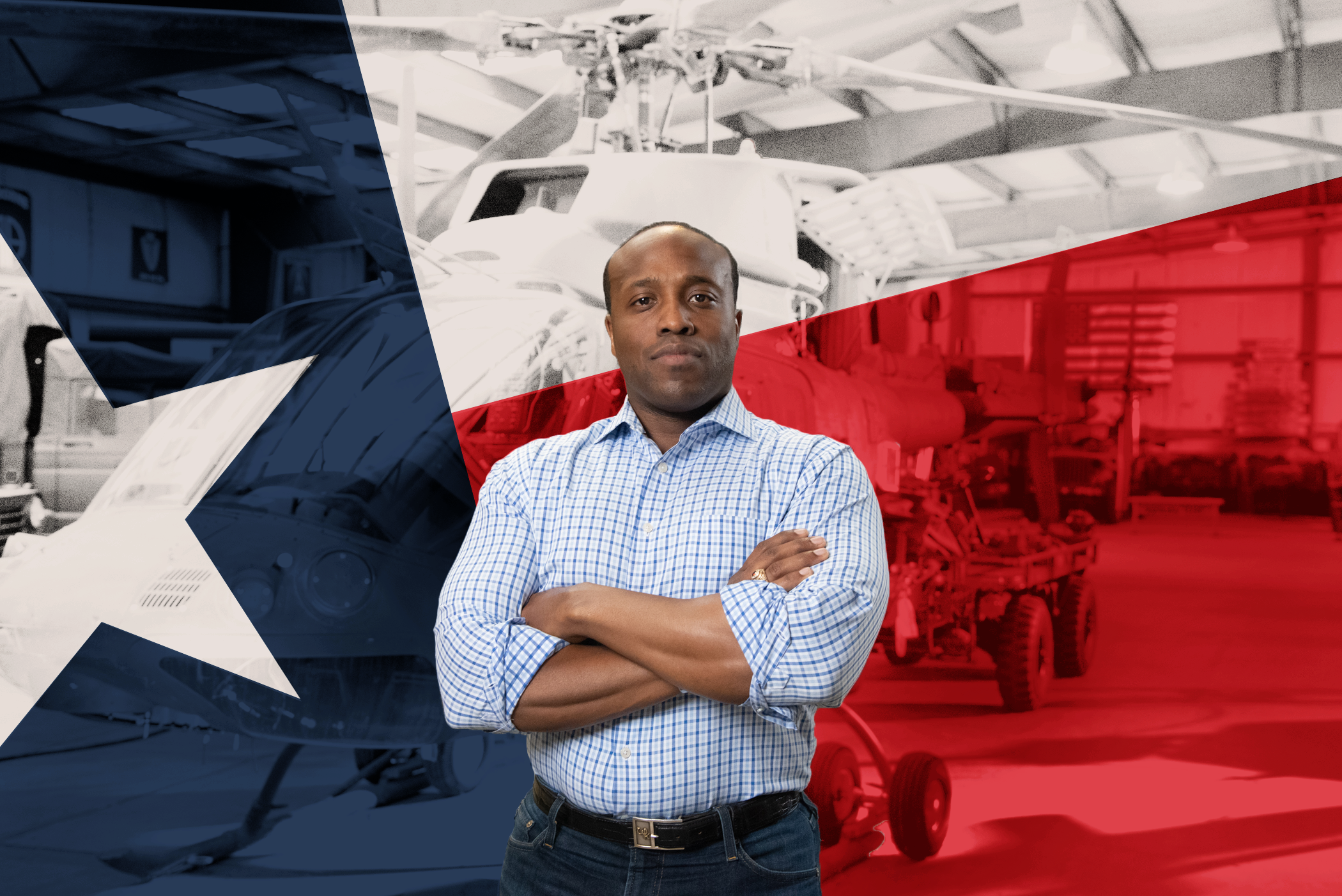 This American hero could be the next U.S. Congressman from Texas -- but only with your help!