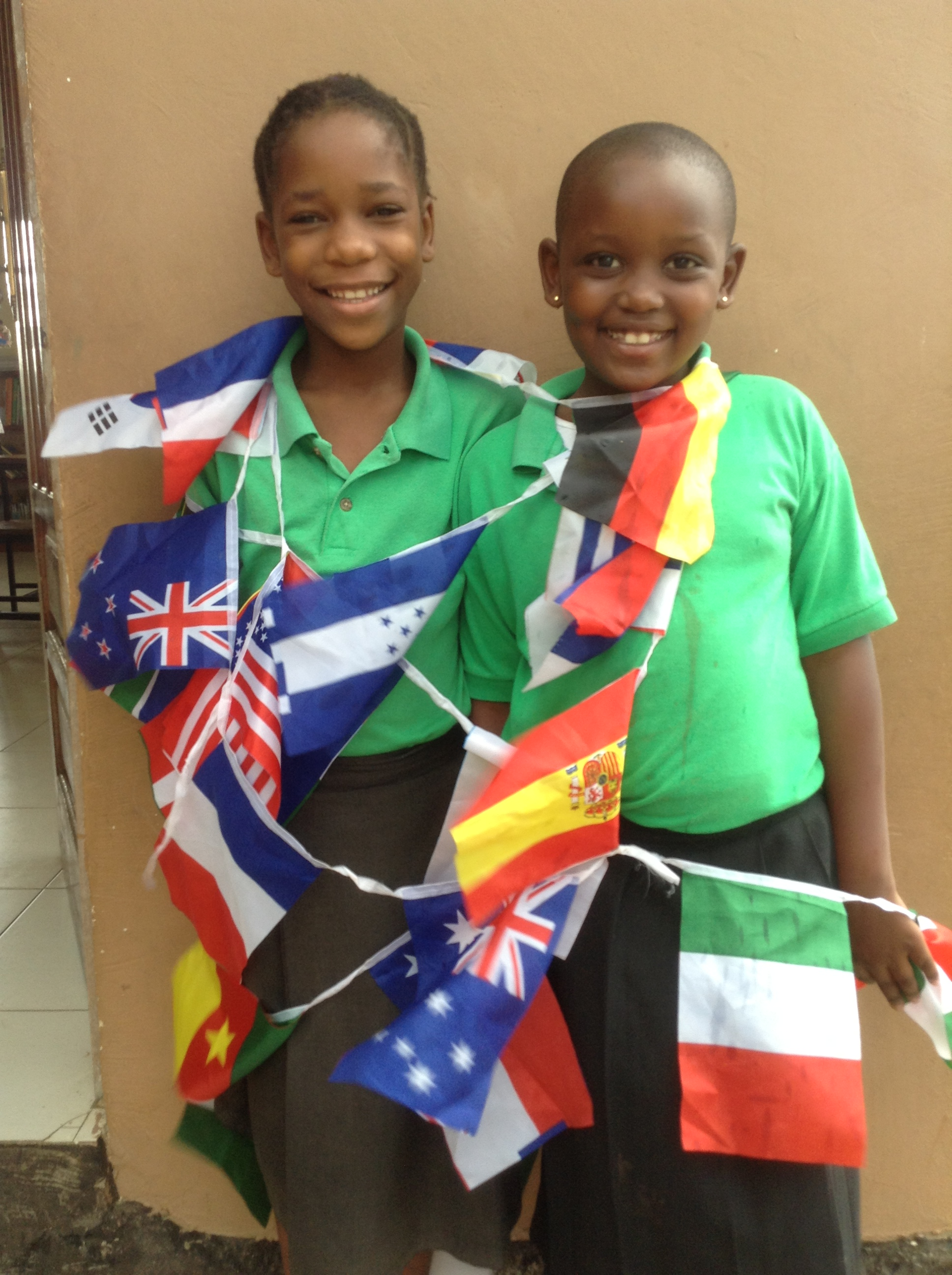 Lisa_and_Sabra_flags.JPG