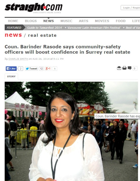 Barinder Rasode Community Safety Officers