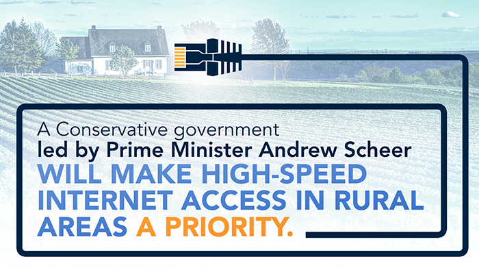 Improving high-speed internet access in rural areas