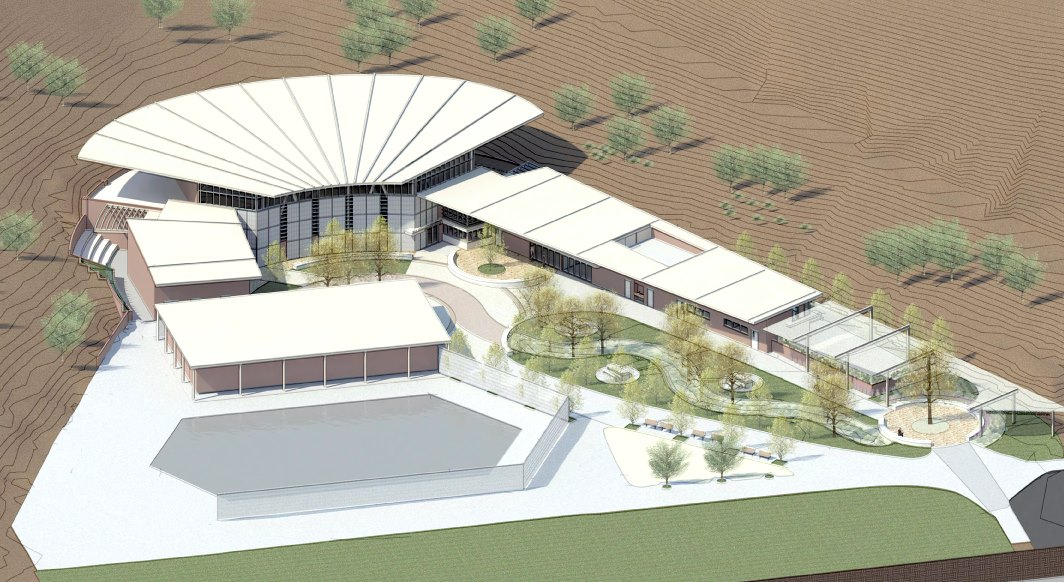 Rendering of the new Woodland Hills Recreation Center