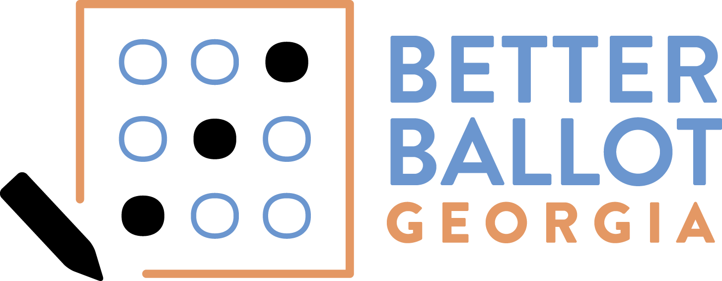 Better Ballot Georgia | Instant Runoff Voting | Ranked Choice Voting