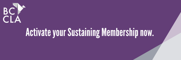 Activate your Sustaining Membership now.