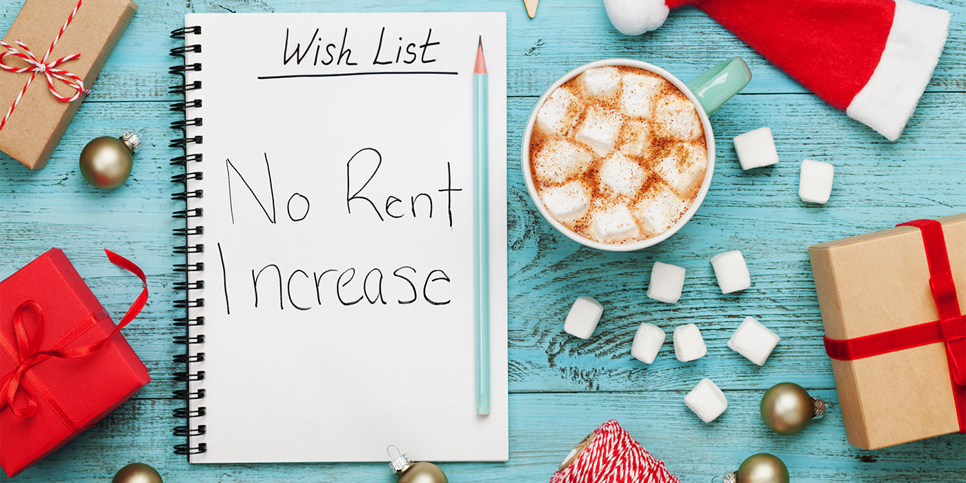 Wish List: No Rent Increase