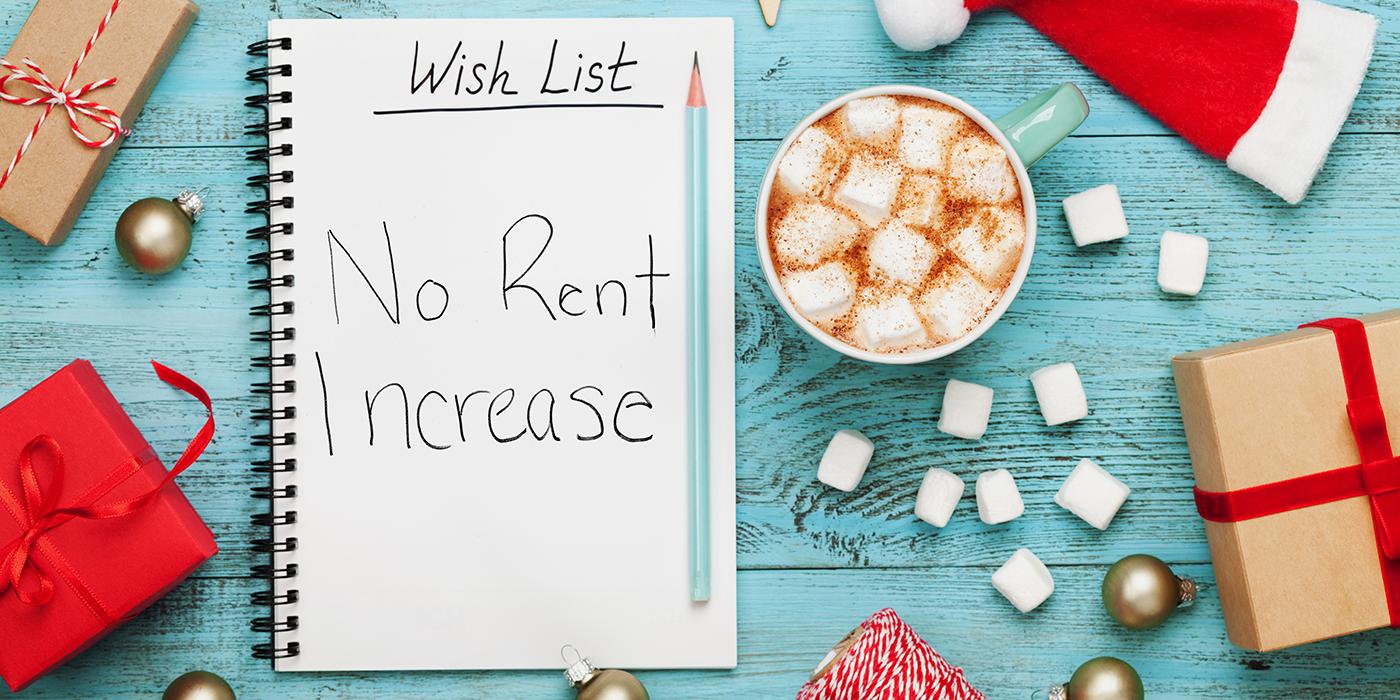 Wish List: No Rent Increase