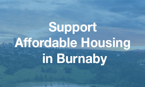 Support Affordable Housing In Burnaby