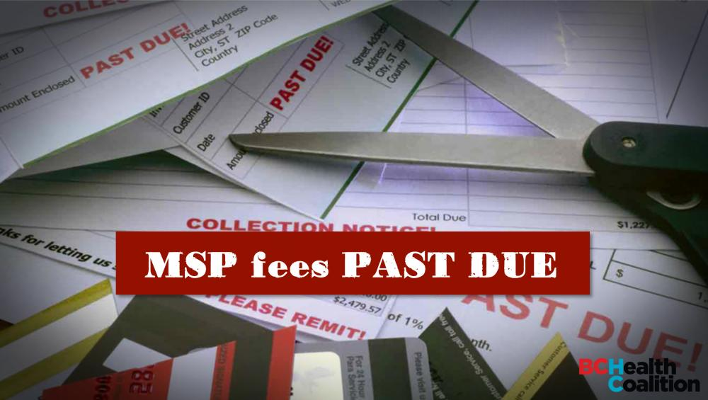 MSP fees past due