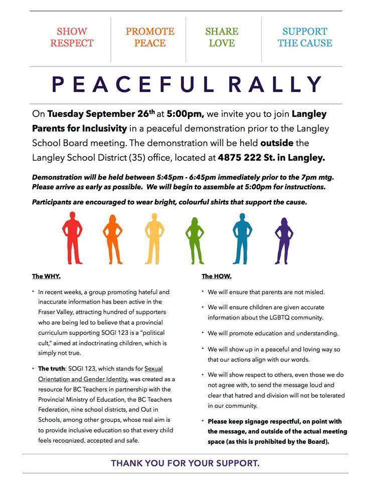 Langley Rally For Inclusion details