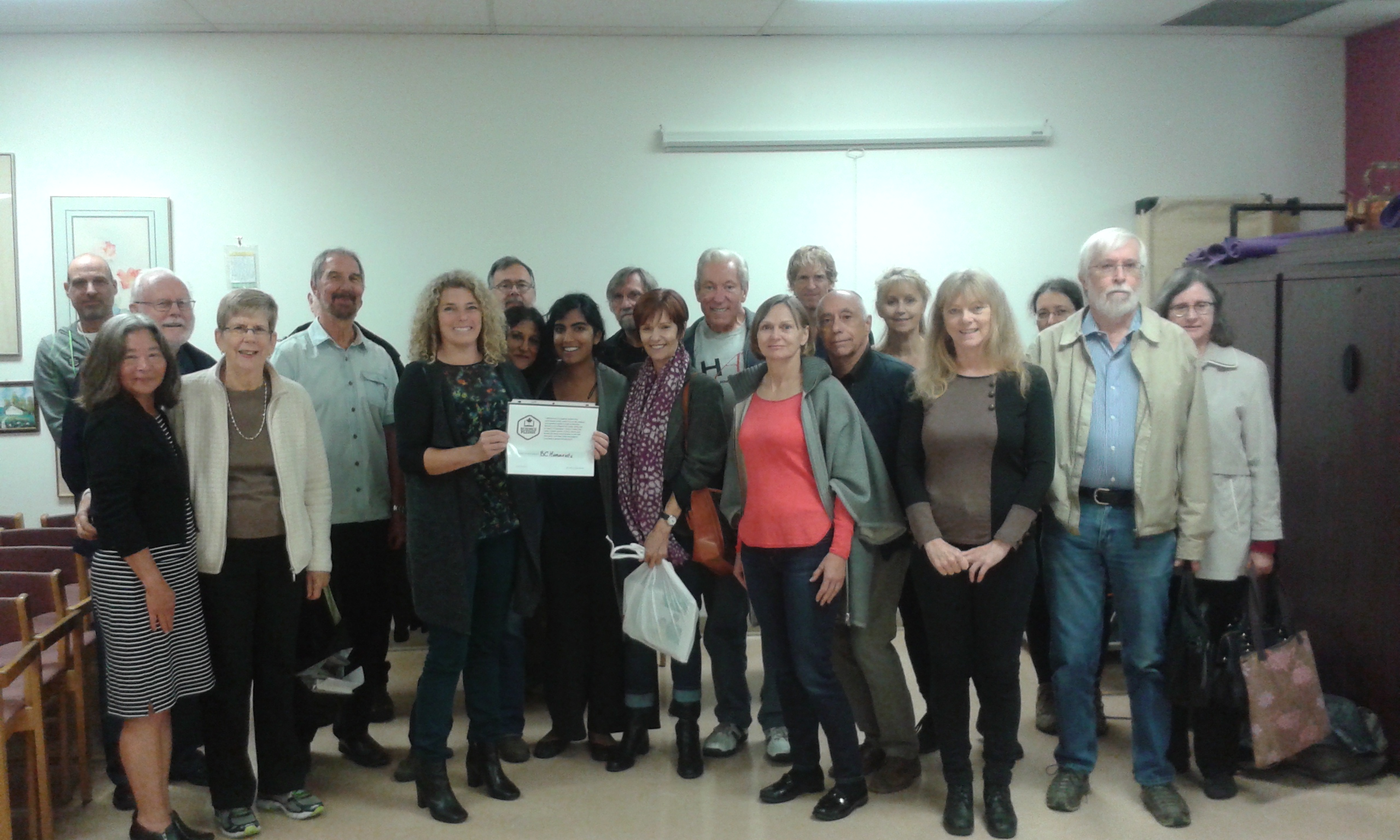 BC Humanists sign Science Pledge
