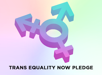 Trans Equality Now Pledge