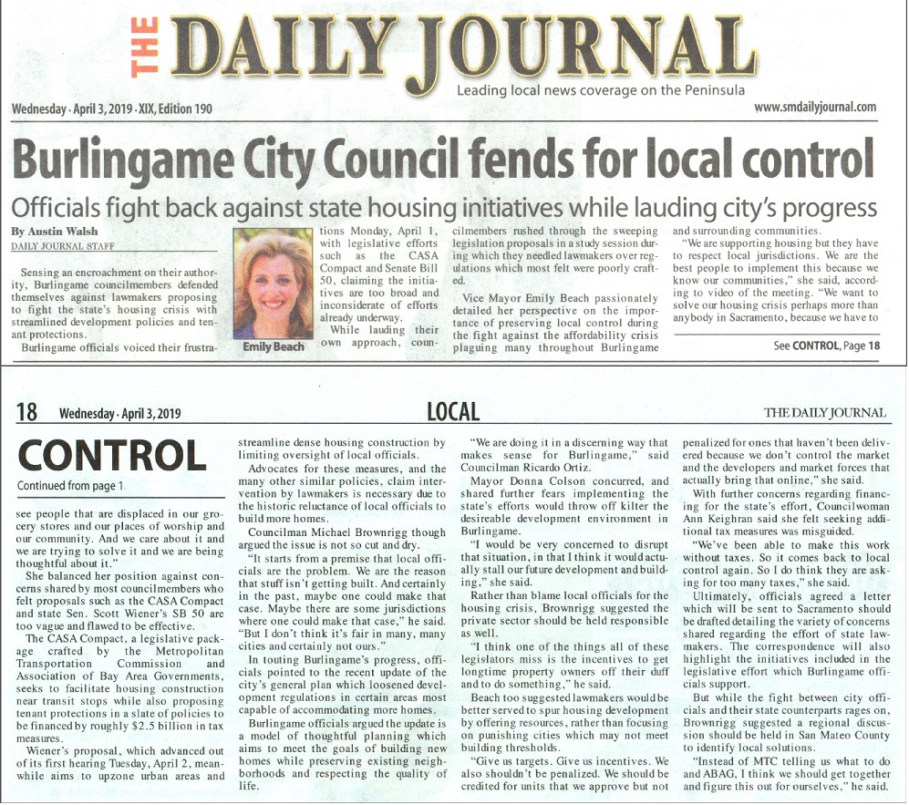 Daily Journal April 3, 2019