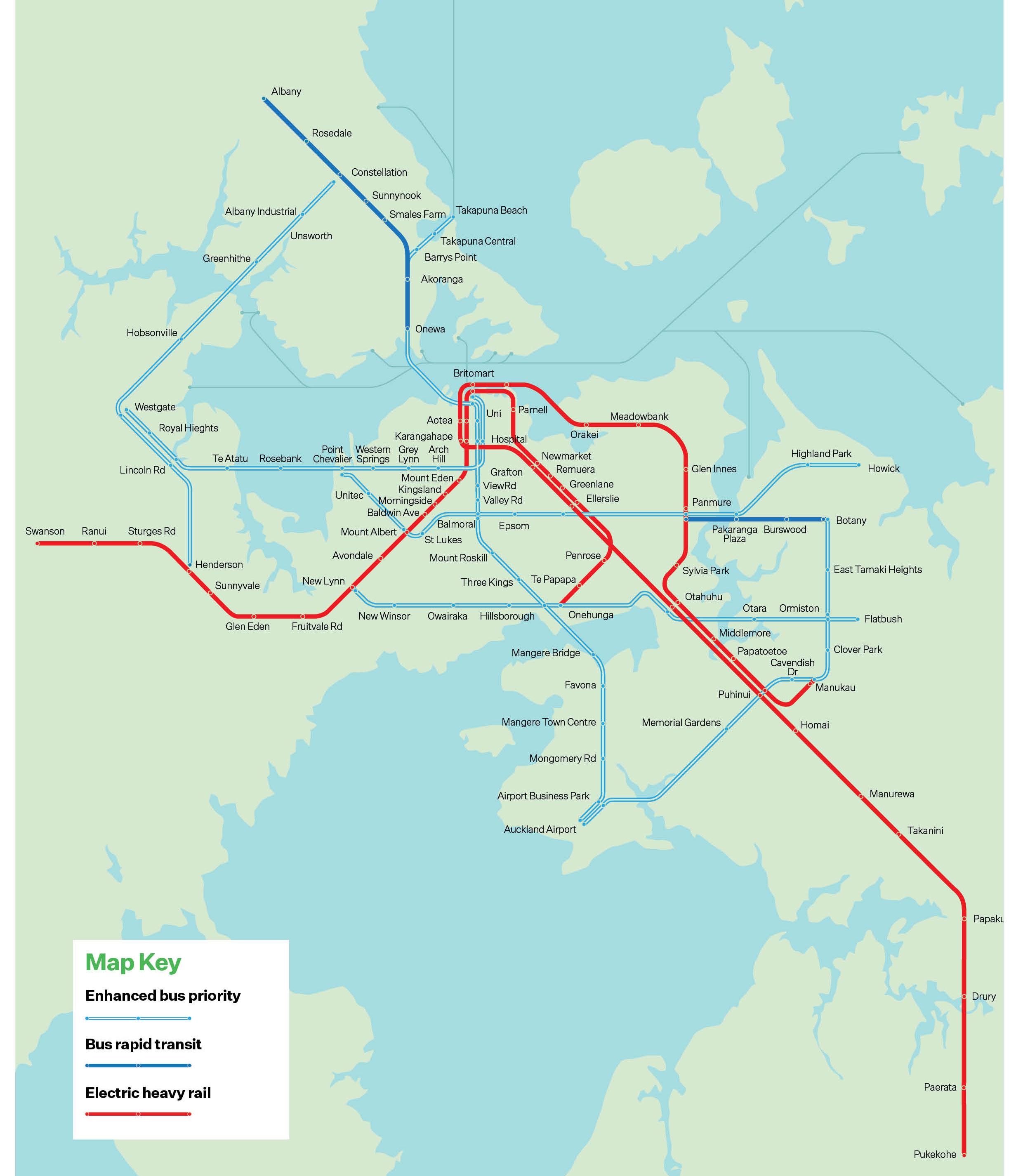 Auckland Transport Plan   Stage 1