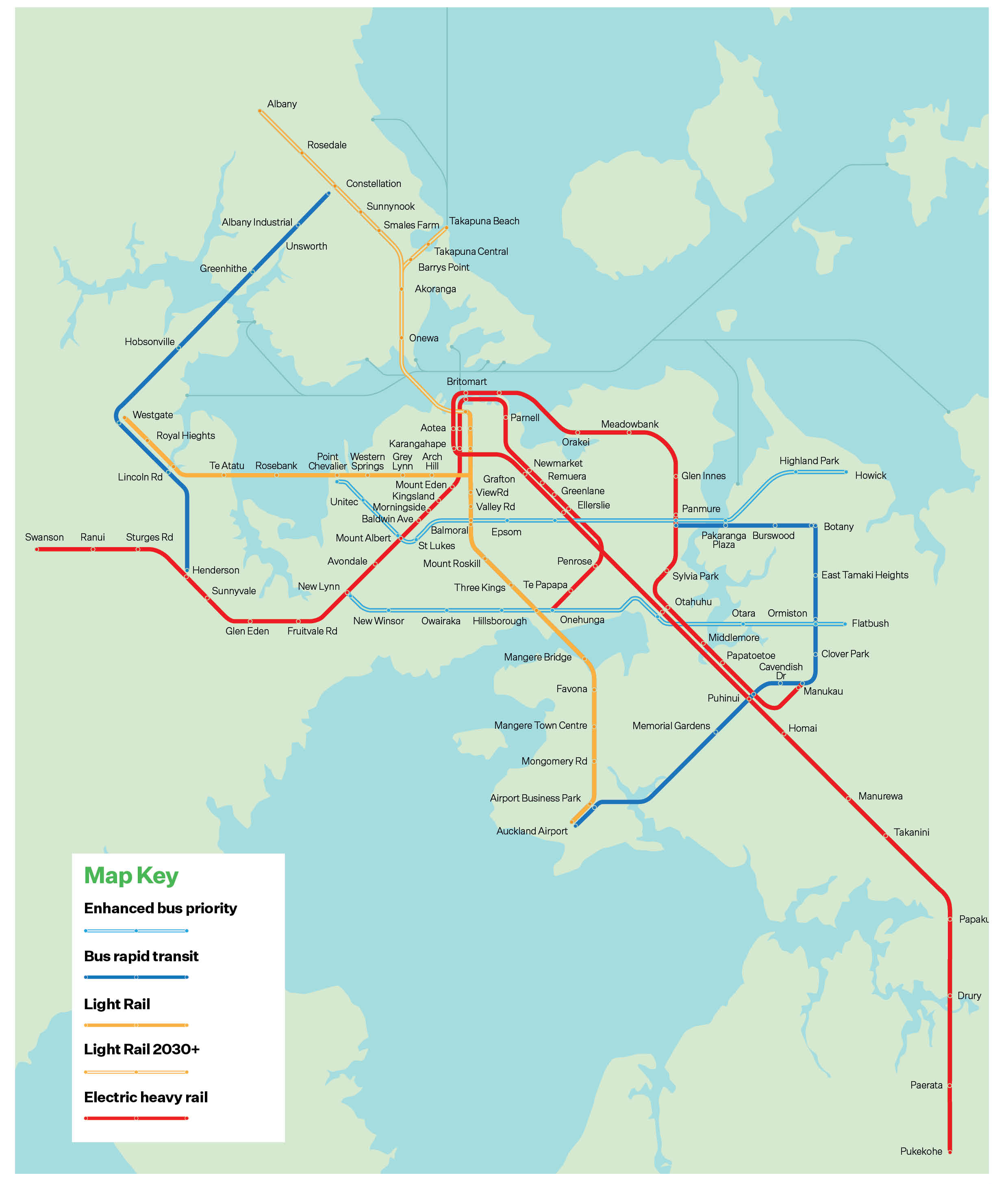 Auckland Transport Plan   Stage two