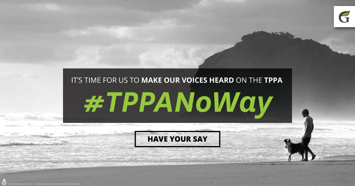 It's time for us to make our voices heard on the TPPA