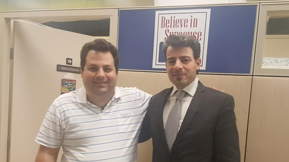Image of John DeSantis and Assad Almajid